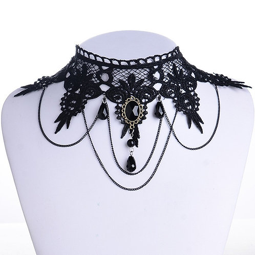 Lazey Exotic Alloy Plating Necklace