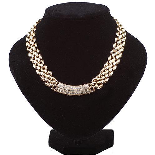 Essex Diamanté Chain Necklace