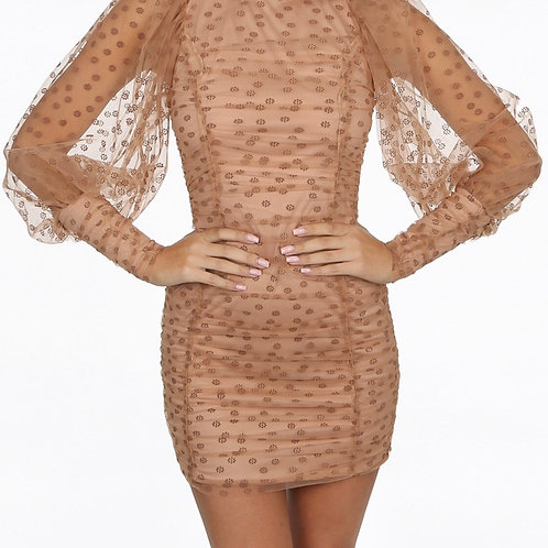 Varom Lined Mini Dress
