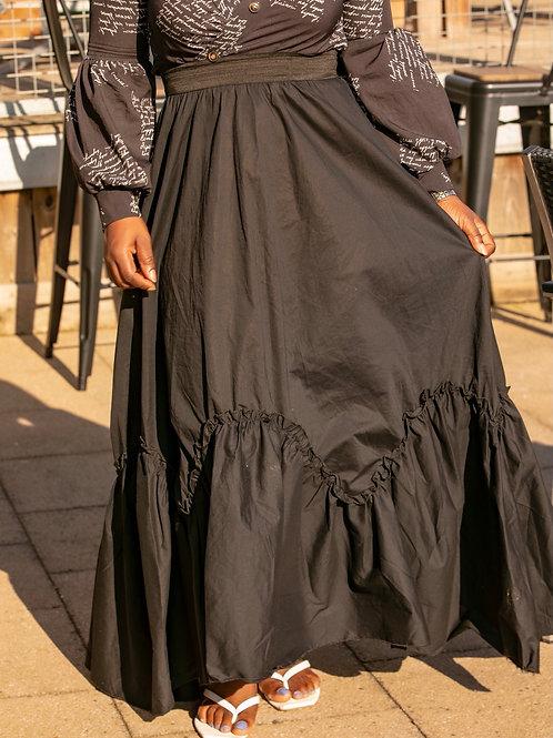Eska Flare Maxi Skirt