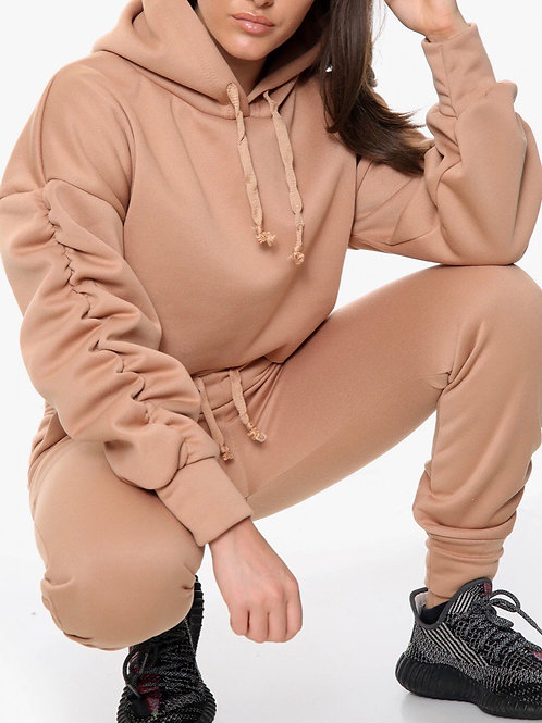 Mossa Ruched Loungewear Co-Ord Set