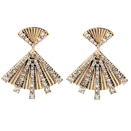 Danielle Alloy Drill Set Earrings