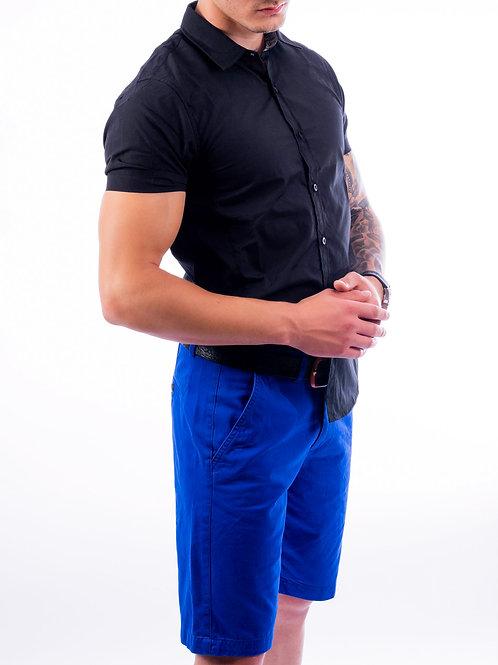 Shaq Black Short Sleeve Slim Fit Shirt