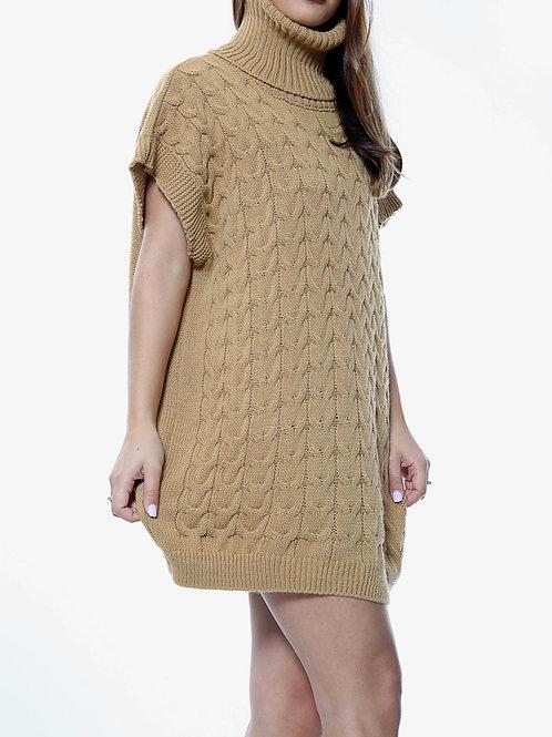 Gylie Roll Nexk Jumper Dress