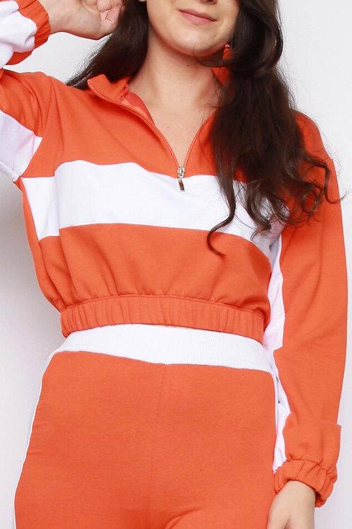 Nessa Cropped Sweatshirt & Jogger Co-ord Set