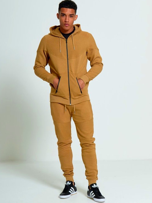 Jamie Ribbed Zip Up Pocket Tracksuit