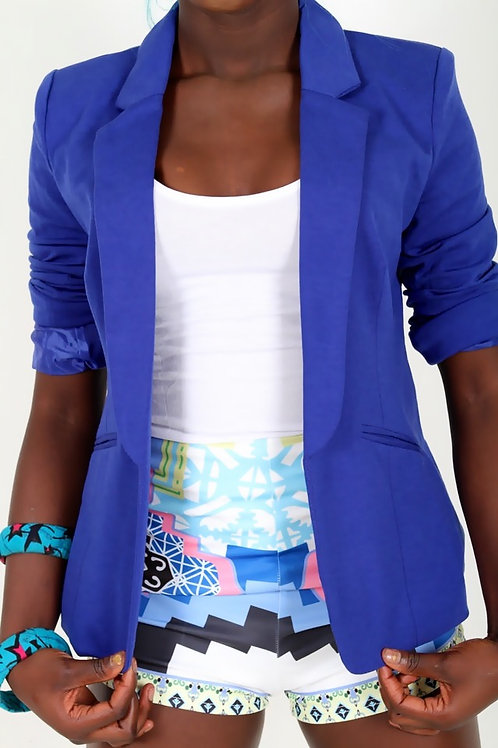 Karen Blue Tailored Blazer