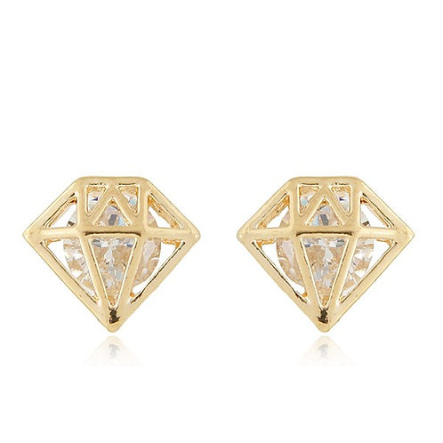 Thelma Alloy Zircon Earring