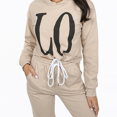 Dana Slogan Loungewear Set