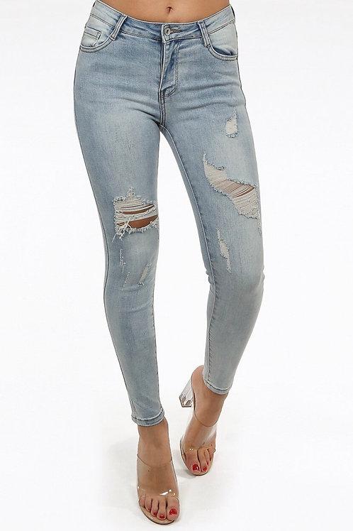 Denver Ripped Skinny Jeans