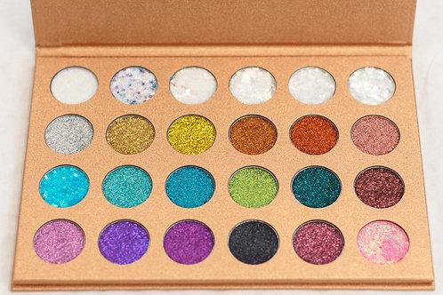 Vickzinoo 24 Shade Glitter Palette