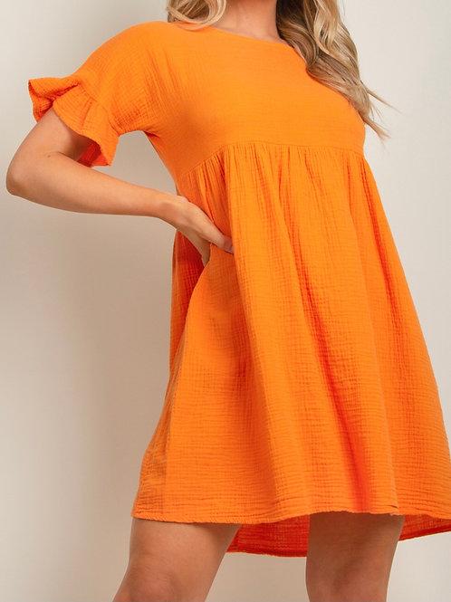 Rao Smock Linen Dress