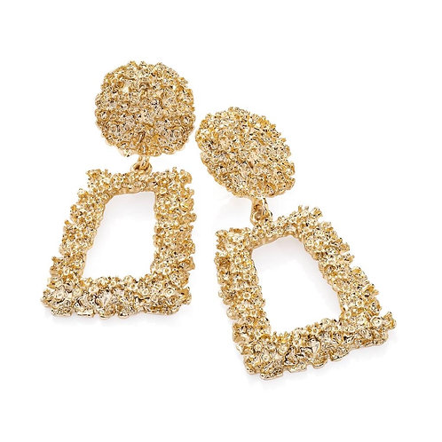 Zoey Gold Drop Earring