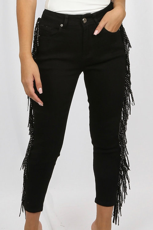 Tsell 5 Pocket Tassel Denim