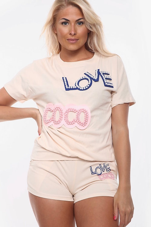 Loveco Shorts Co-Ord Set