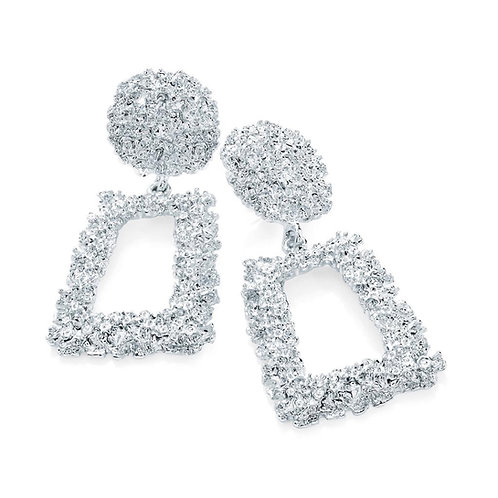 Zoey Silver Drop Earring