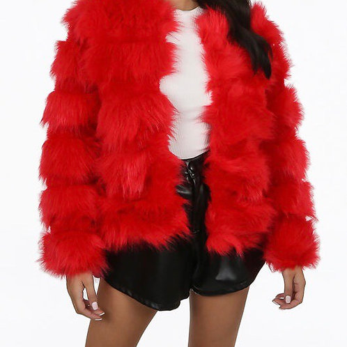 Sarlem Soft Faux Fur Jacket