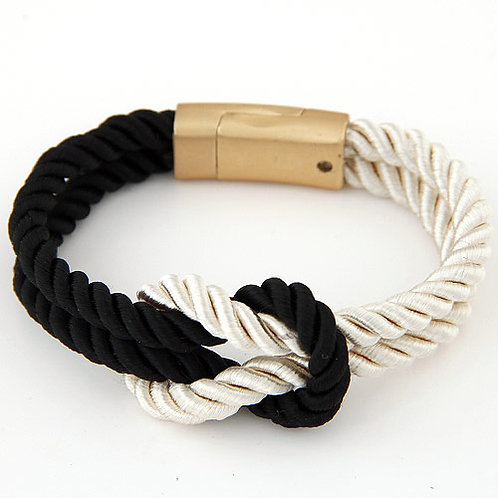 Vivi Black/White Bracelet