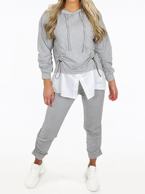 Cenna Ruched Coord Loungewear Set