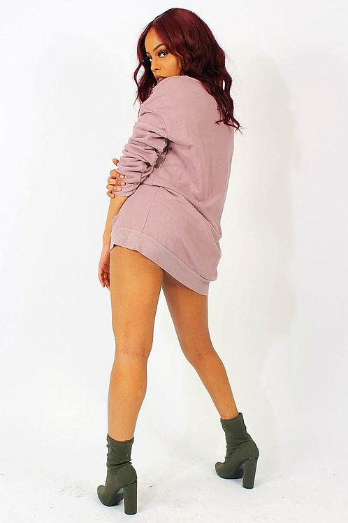 Wendy Ripped Jumper Dress