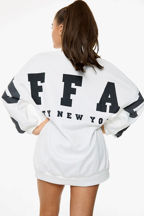 Buffy Oversized Slogan Sweatshirt