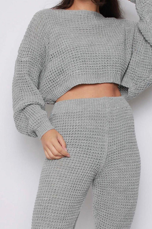 Netty Jumper & Jogger Knitted Co-ord Lounge Set