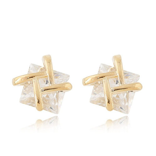 Zara Alloy Zircon Earring