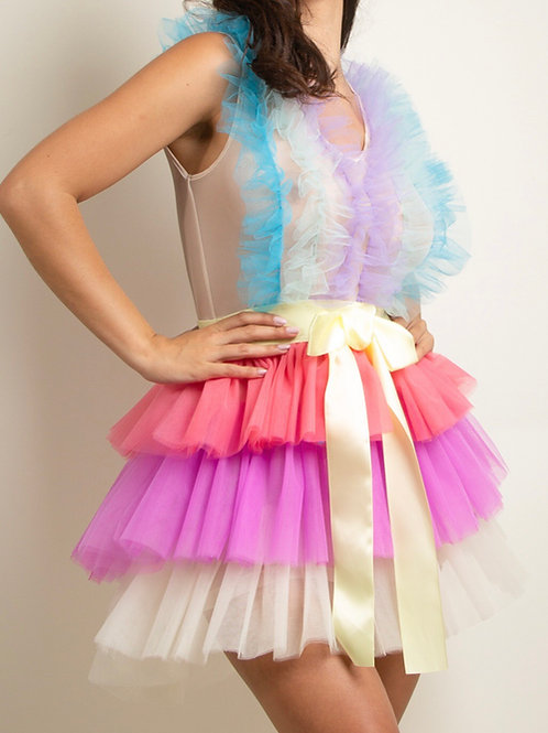 Tulley Tulle Frill Dress