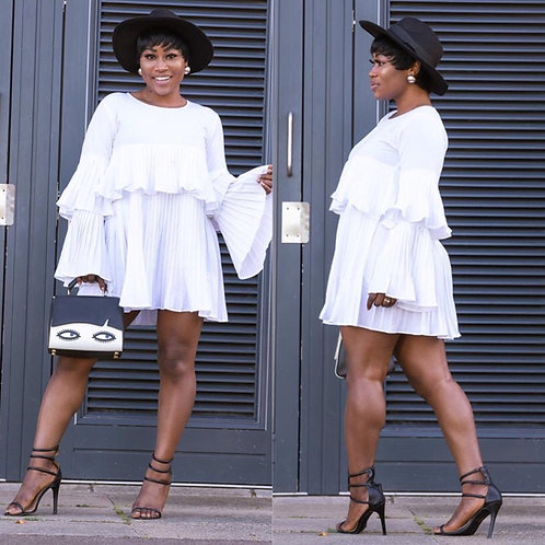 Ellani Mini Ruffle Dress