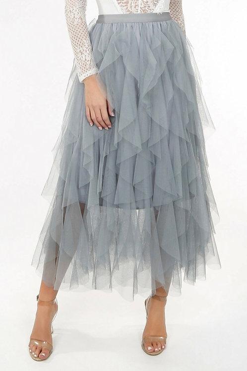 Fenne Wavy Maxi Length Skirt