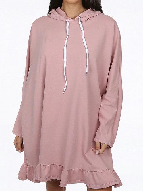 Novella Jumper Hoody Dress