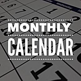 2020-21 Monthly Calendar