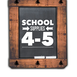 School SuppliesGrade 4-5, 2021-22