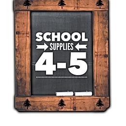 School SuppliesGrade 4-5