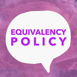 Equivalency Policy