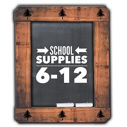 School Supplies Grade 6-12