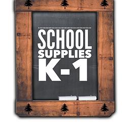 School Supplies K-1, 2021-22
