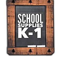 School Supplies K-1