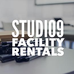 Studio9 Facility Rentals