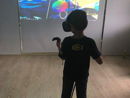 VR 科技 x 兒童美學