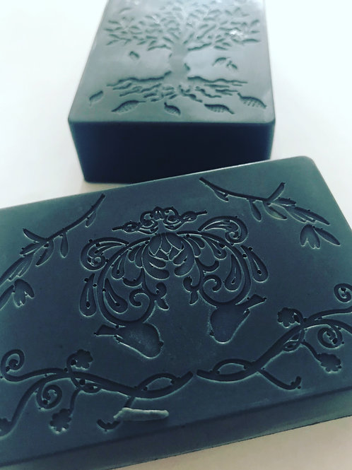 Activated Charcoal & Coconut Face Bar