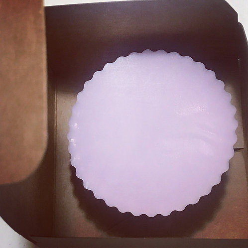 Lavender Cup Cake Soap