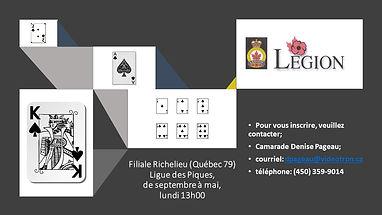 Poster publicitaire Ligue des Piques, fi