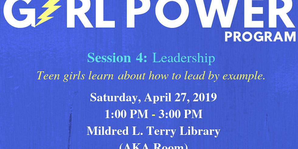Girl Power Program: Session 4