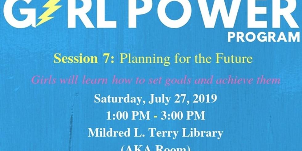 Girl Power Program: Session 7