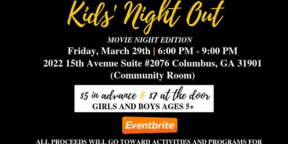 Kids' Night Out: Movie Night
