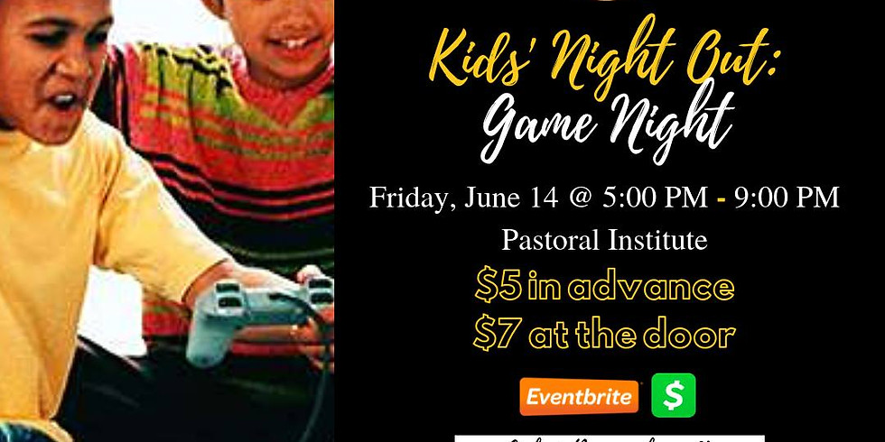 Kids' Night Out: Game Night (1)