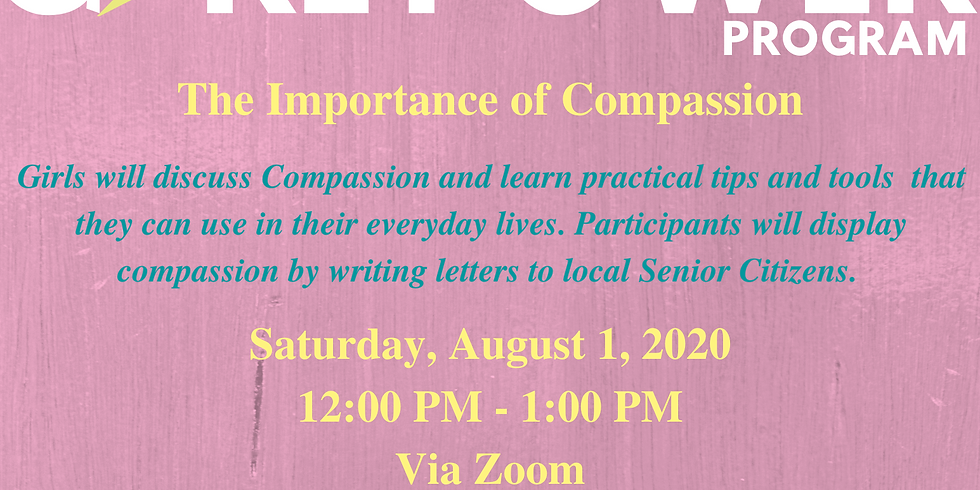 Girl Power Program: The Importance of Compassion