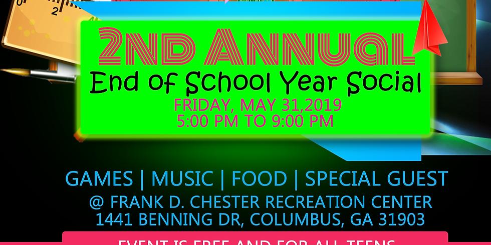 End of School Year Social
