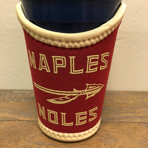 Naples Noles Pint Sleeve - Garnet